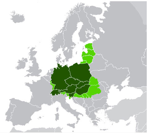 Central Europe Location
